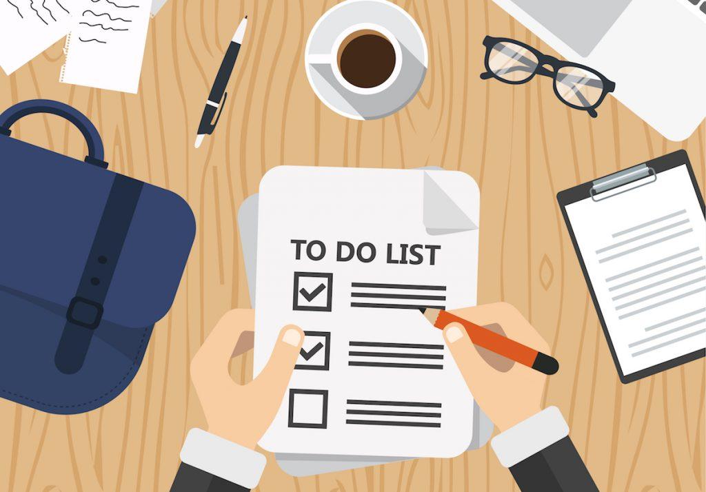 Workflow creation & documentation checklist
